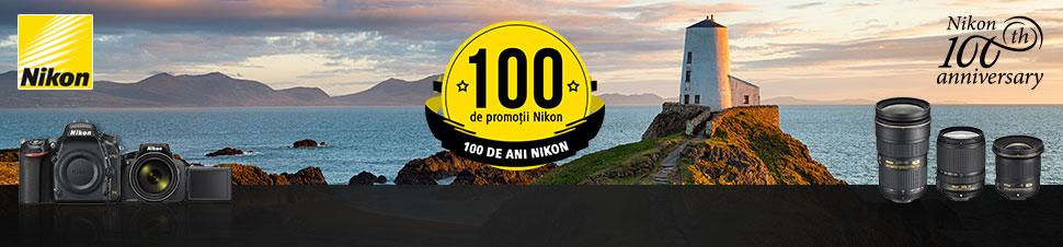 100 de promotii Nikon