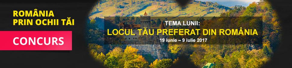 Concurs Romania prin ochii tai - Locul tau preferat