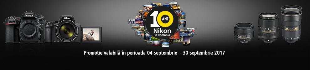 Promotii 10 ani Nikon