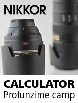 Nikon DOF calculator