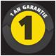 garantie 1 an