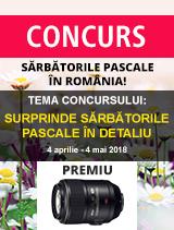 Surprinde Sarbatorile Pascale in detaliu