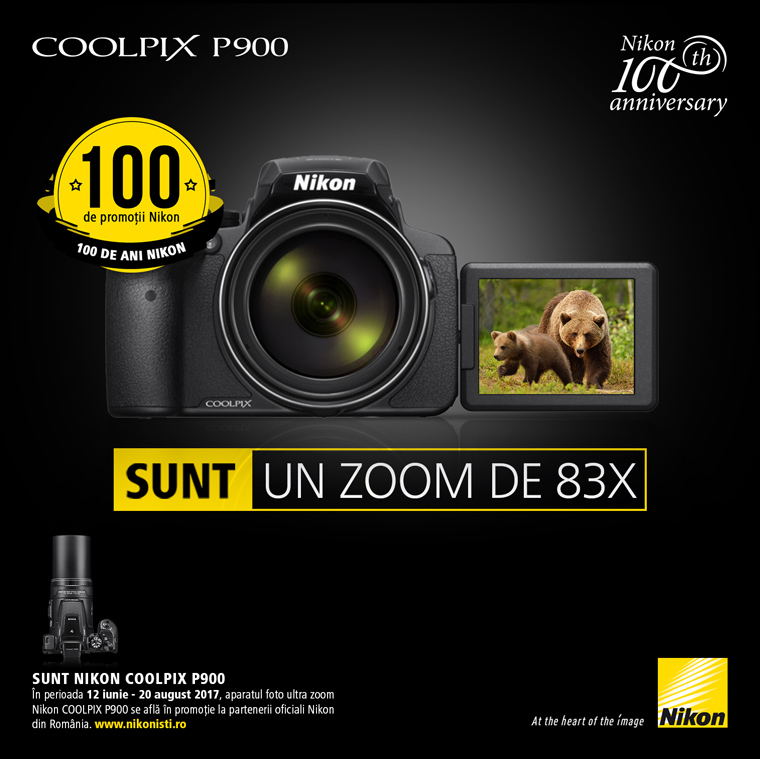 Promotie Nikon COOLPIX P900 in promotie