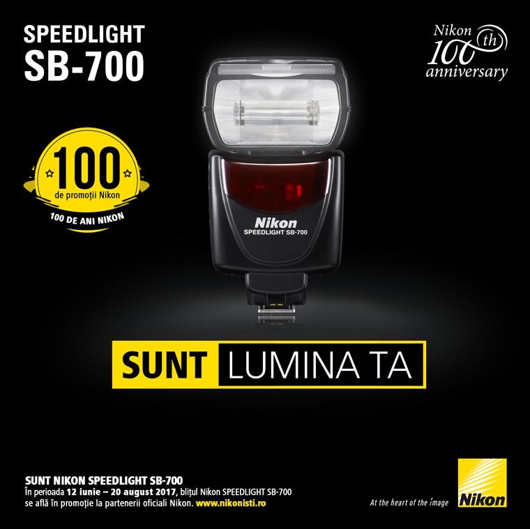 Promotie SUNT BLITUL NIKON SPEEDLIGHT SB-700