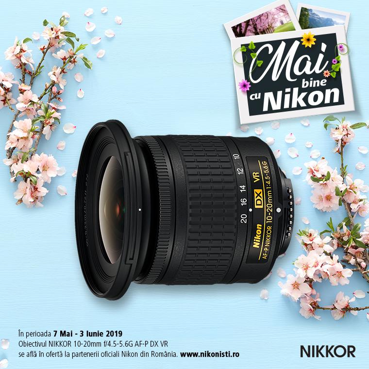 Promotie SUNT NIKKOR 10-20MM F/4.5-5.6G IN PROMOTIE
