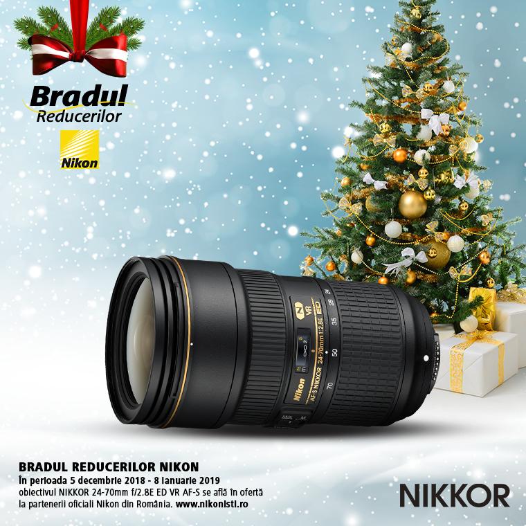 Promotie SUNT NIKKOR 24-70mm f/2.8E ED VR AF-S IN PROMOTIE