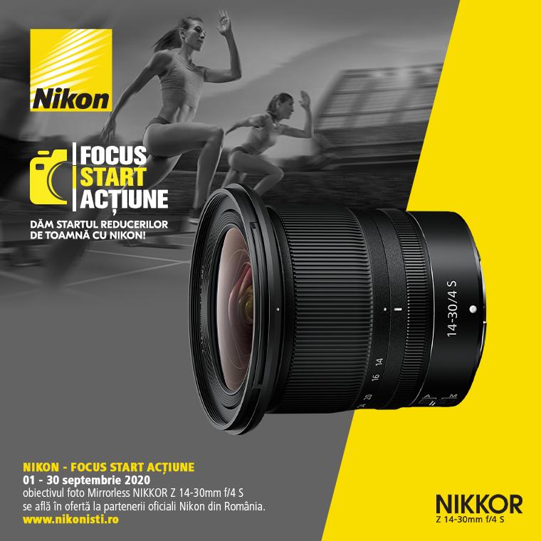 Promotie SUNT NIKKOR Z 14-30mm f/4 S IN PROMOTIE