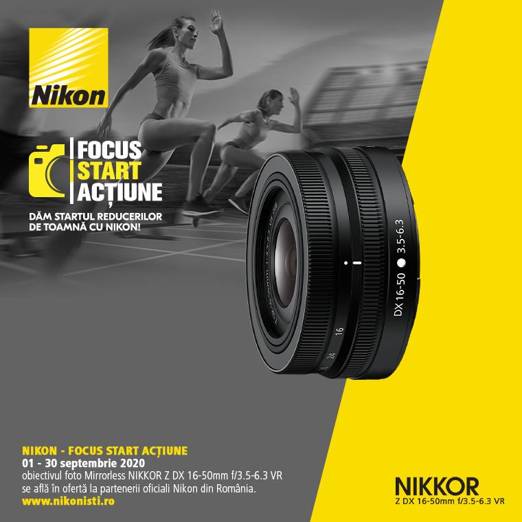 Promotie SUNT NIKKOR Z 16-50mm f/3.5-6.3 DX VR IN PROMOTIE