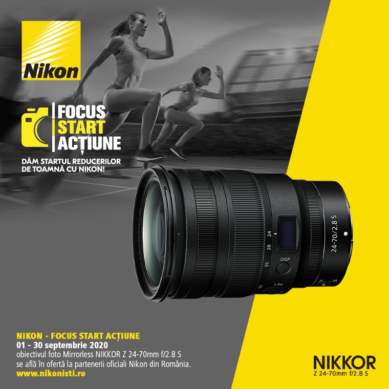 Promotie SUNT NIKKOR Z 24-70mm f/2.8 S IN PROMOTIE