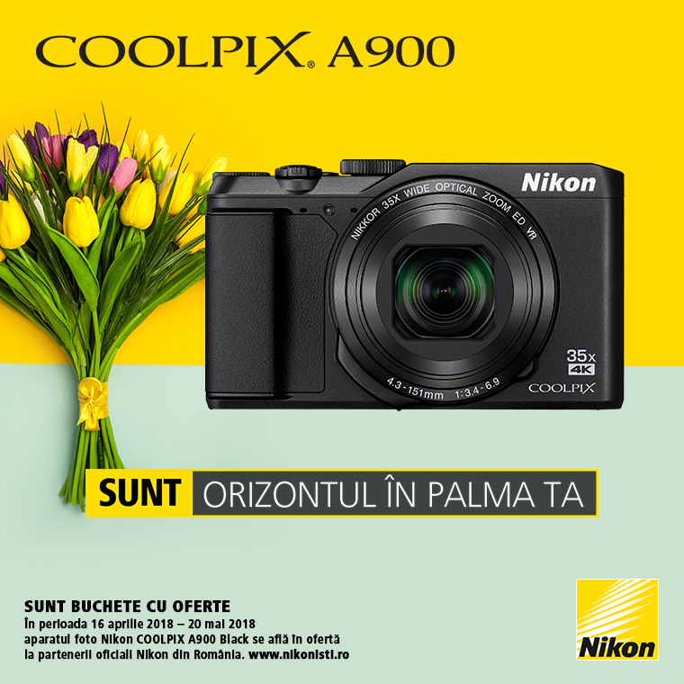 Promotie SUNT NIKON COOLPIX A900 LA OFERTA