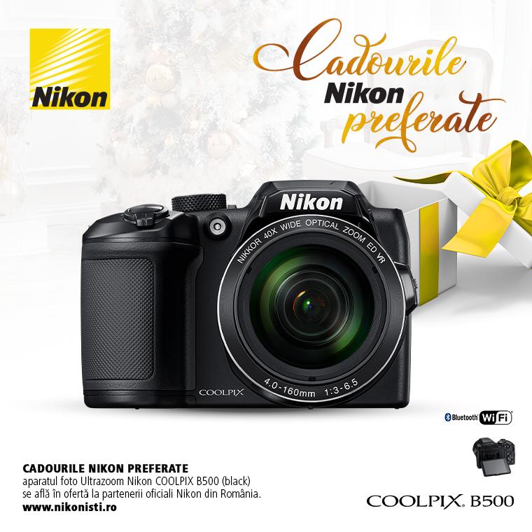 Promotie SUNT NIKON COOLPIX B500 IN PROMOTIE