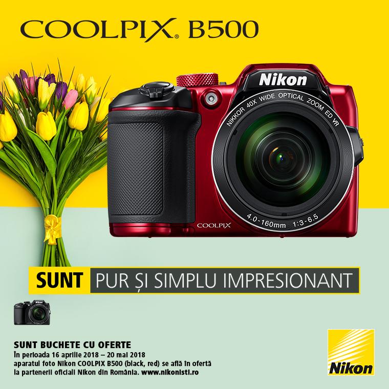 Promotie SUNT NIKON COOLPIX B500 LA OFERTA