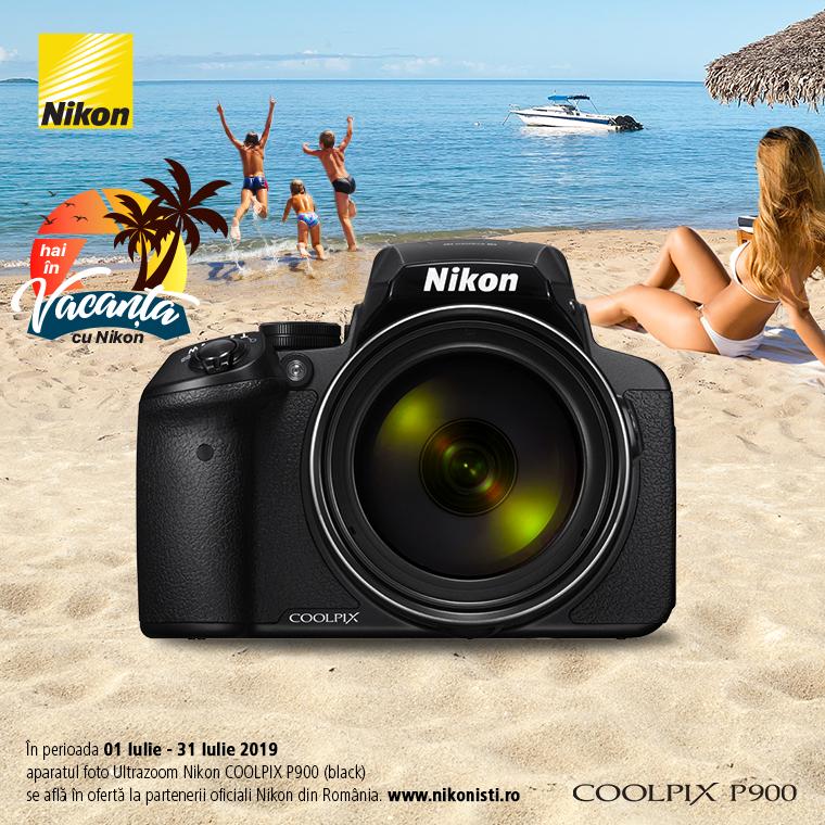 Promotie SUNT NIKON COOLPIX P900 IN PROMOTIE