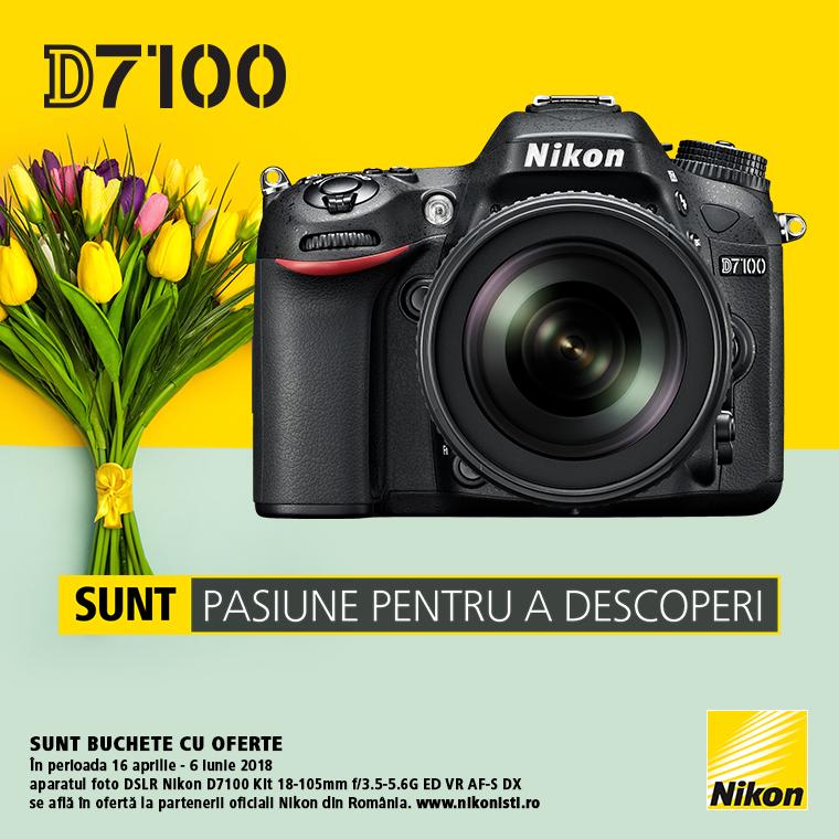 Promotie SUNT NIKON D7100 LA OFERTA