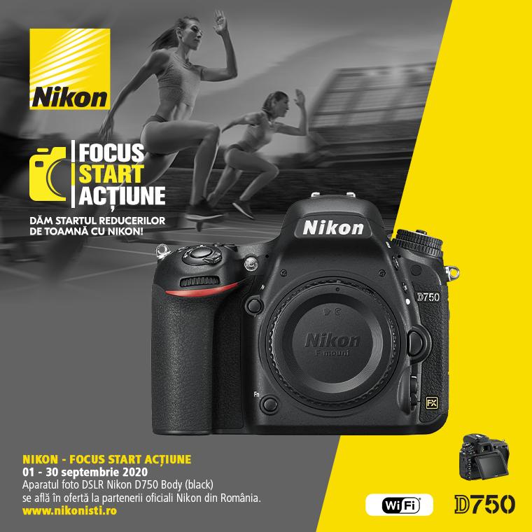 Promotie SUNT NIKON D750 IN PROMOTIE