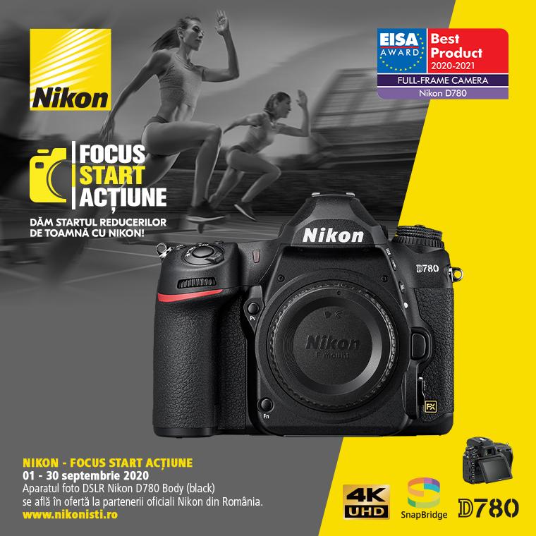 Promotie SUNT NIKON D780 IN PROMOTIE
