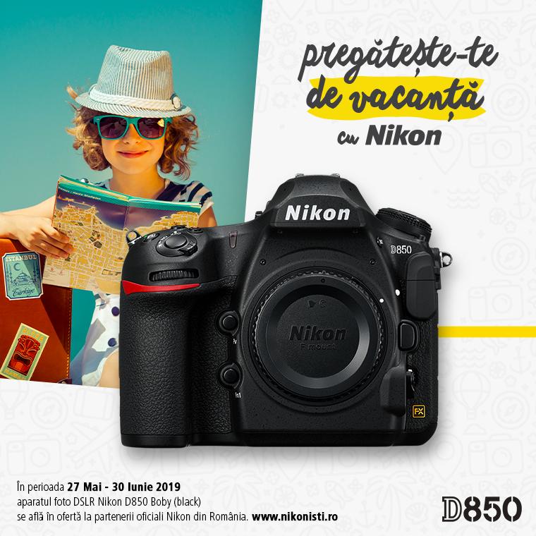 Promotie SUNT NIKON D850 IN PROMOTIE