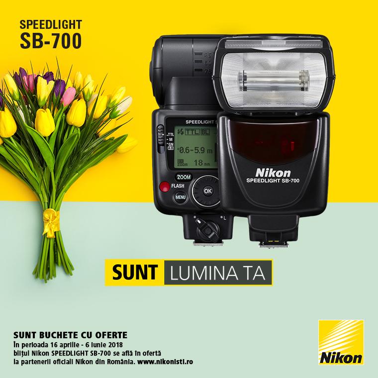 Promotie SUNT NIKON SPEEDLIGHT SB-700 LA OFERTA