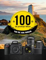 100 de promotii Nikon disponibile in perioada 12 iunie -20 august 2017 la partenerii oficiali Nikon din Romania