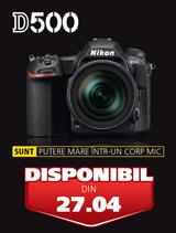 Noul Nikon D500