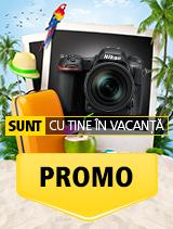In perioada 26 iunie 2018 - 5 august 2018 la partenerii oficiali Nikon din Romania. www.nikonisti.ro