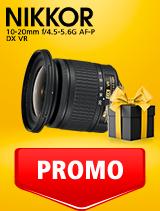 In perioada 25 februarie - 9 martie obiectivul NIKKOR 10-20mm f/4.5-5.6G AF-P DX VR se afla in oferta la partenerii oficiali Nikon din Romania. www.nikonisti.ro