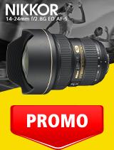 In perioada 1 - 30 septembrie 2020 obiectivul NIKKOR 14-24mm f/2.8G ED AF-S se afla in oferta la partenerii oficiali Nikon din Romania. www.nikonisti.ro