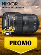 SUNT NIKKOR 16-35mm f/4G ED VR AF-S IN PROMOTIE