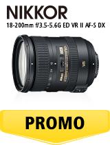 In perioada 26 iunie 2018- 5 august 2018 obiectivul Nikkor 18-200mm f/3.5-5.6G ED VRII AF-S DX se afla in oferta la partenerii oficiali Nikon din Romania. www.nikonisti.ro