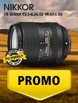 SUNT NIKKOR 18-300mm f/3.5-6.3G ED VR AF-S DX IN PROMOTIE