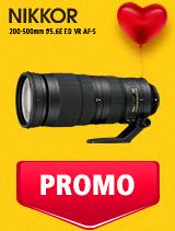 In perioada 5 - 25 februarie 2019 obiectivul NIKKOR 200-500mm f/5.6E ED VR AF-S se afla in oferta la partenerii oficiali Nikon din Romania. www.nikonisti.ro
