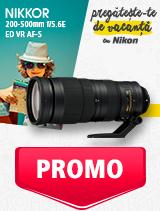 In perioada 27 mai - 30 iunie 2019 obiectivul NIKKOR 200-500mm f/5.6E ED VR AF-S se afla in oferta la partenerii oficiali Nikon din Romania. www.nikonisti.ro