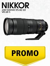 In perioada 4 decembrie 2019 - 15 ianuarie 2020 obiectivul NIKKOR 200-500mm f/5.6E ED VR AF-S se afla in oferta la partenerii oficiali Nikon din Romania. www.nikonisti.ro