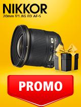In perioada 25 februarie - 9 martie 2020 obiectivul NIKKOR 20mm f/1.8G ED AF-S se afla in oferta la partenerii oficiali Nikon din Romania. www.nikonisti.ro