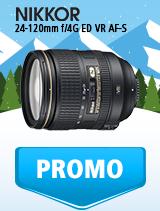 In perioada 9 ianuarie - 4 februarie 2019 obiectivul NIKKOR 24-120mm f/4G ED VR AF-S se afla in oferta la partenerii oficiali Nikon din Romania. www.nikonisti.ro