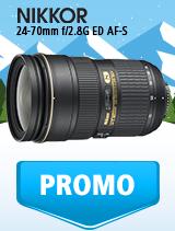In perioada 9 ianuarie - 4 februarie 2019 obiectivul NIKKOR 24-70mm f/2.8G ED AF-S se afla in oferta la partenerii oficiali Nikon din Romania. www.nikonisti.ro