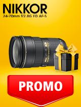 In perioada 25 februarie - 9 martie 2020 obiectivul NIKKOR 24-70mm f/2.8G ED AF-S se afla in oferta la partenerii oficiali Nikon din Romania. www.nikonisti.ro