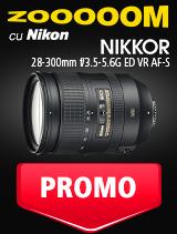 SUNT NIKKOR 28-300mm f/3.5-5.6G ED VR AF-S IN PROMOTIE
