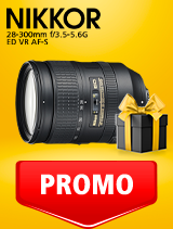 In perioada 25 februarie - 9 martie 2020 obiectivul NIKKOR 28-300mm f/3.5-5.6G ED VR AF-S se afla in oferta la partenerii oficiali Nikon din Romania. www.nikonisti.ro