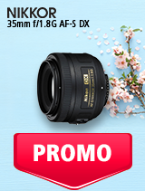 In perioada 7 mai - 3 iunie 2019 obiectivul NIKKOR 35mm f/1.8G AF-S DX se afla in oferta la partenerii oficiali Nikon din Romania. www.nikonisti.ro
