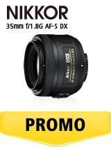 In perioada 6 iunie 2018- 15 iulie 2018 obiectivul Nikkor 35mm f/1.8G AF-S DX se afla in oferta la partenerii oficiali Nikon din Romania. www.nikonisti.ro