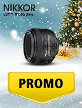 In perioada 5 decembrie 2018 - 8 ianuarie 2019 obiectivul NIKKOR 50mm f/1.4G AF-S se afla in oferta la partenerii oficiali Nikon din Romania. www.nikonisti.ro