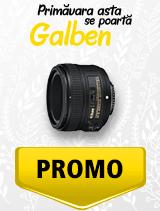 In perioada 1 aprilie - 6 mai 2019 obiectivul NIKKOR 50mm f/1.8G AF-S se afla in oferta la partenerii oficiali Nikon din Romania. www.nikonisti.ro
