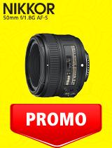 In perioada 7 iulie - 3 august 2020 obiectivul NIKKOR 50mm f/1.8G AF-S se afla in oferta la partenerii oficiali Nikon din Romania. www.nikonisti.ro