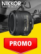 In perioada 1 - 30 septembrie 2020 obiectivul NIKKOR 50mm f/1.8G AF-S se afla in oferta la partenerii oficiali Nikon din Romania. www.nikonisti.ro