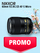 In perioada 7 mai - 3 iunie 2019 obiectivul NIKKOR 60mm f/1.8G ED AF-S Micro se afla in oferta la partenerii oficiali Nikon din Romania. www.nikonisti.ro