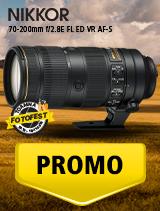 SUNT NIKKOR 70-200mm f/2.8E FL ED VR AF-S IN PROMOTIE