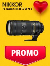 In perioada 5 - 25 februarie 2019 obiectivul NIKKOR 70-200mm f/2.8E FL ED VR AF-S se afla in oferta la partenerii oficiali Nikon din Romania. www.nikonisti.ro