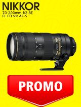 In perioada 7 iulie - 3 august 2020 obiectivul NIKKOR 70-200mm f/2.8E FL ED VR AF-S se afla in oferta la partenerii oficiali Nikon din Romania. www.nikonisti.ro