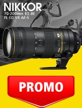 In perioada 1 - 30 septembrie 2020 obiectivul NIKKOR 70-200mm f/2.8E FL ED VR AF-S se afla in oferta la partenerii oficiali Nikon din Romania. www.nikonisti.ro